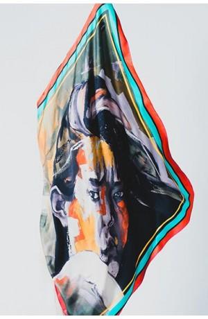 CLEMENTINA Silk Scarf