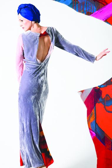 LIZA CRIMSON Dress